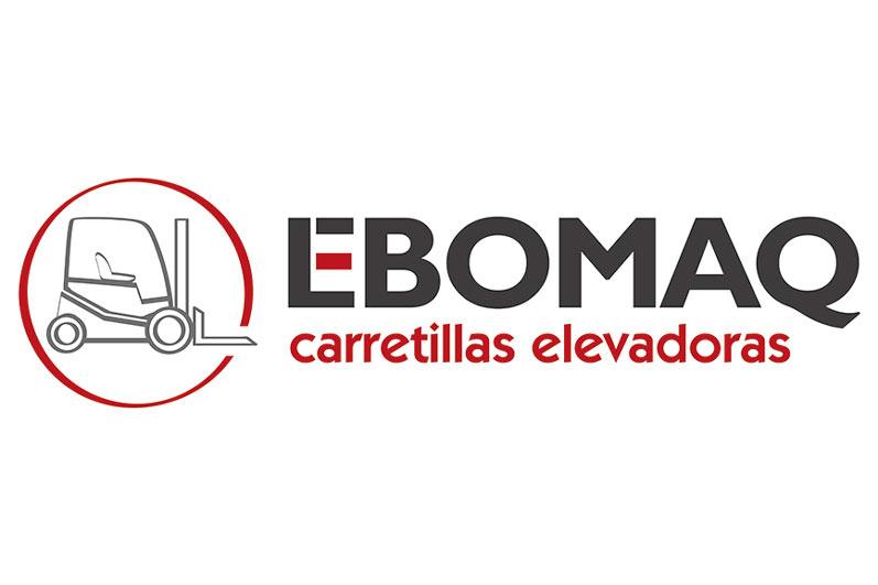<strong>Ebomaq<span><b>Diseño de logotipo</b></span></strong><i>&rarr;</i>