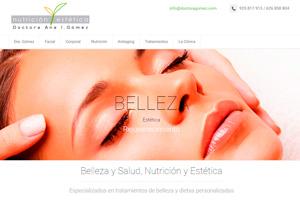 <strong>Nutrición y Estética www.doctoragomez.com<span></span></strong><i>→</i>