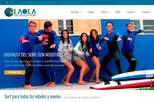 <strong>Surf la Ola www.escueladesurflaola.com<span></span></strong><i>&rarr;</i>