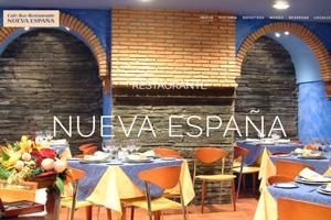 <strong>Cafetería Nueva España www.cafenuevaespana.com<span></span></strong><i>&rarr;</i>