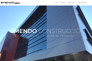 <strong>Emendo Construcción www.emendo.es<span></span></strong><i>→</i>