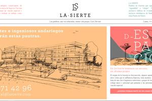 <strong>Edificio La Sierte www.lasierte.es<span></span></strong><i>→</i>