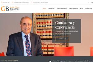 <strong>García Barroso www.javiergarciabarroso.es<span></span></strong><i>→</i>