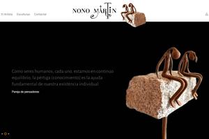 <strong>Nono Martín esculturasnonomartin.com<span></span></strong><i>→</i>
