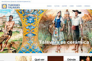 <strong>Turismo Talavera www.turismotalavera.com<span></span></strong><i>→</i>